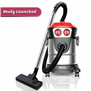 Inalsa Vacuum Cleaner Wet and Dry Micro WD21-1600W with 3in1 Multifunction Wet/Dry/Blowing|Hepa Filteration & 21KPA Powerful Suction